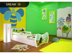 ŁÓŻKO DZIECIĘCE DREAM Z SZUFLADĄ L04 160/80 – DM18