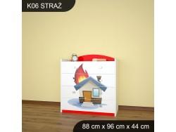 KOMODA STRAŻ K06