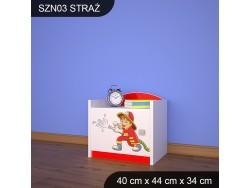 SZAFKA NISKA STRAŻ SZN03
