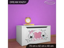 KUFER NA ZABAWKI DREAM KNZ-01 DM01