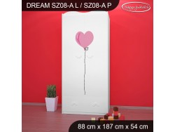 SZAFA DREAM SZ08-A DM01