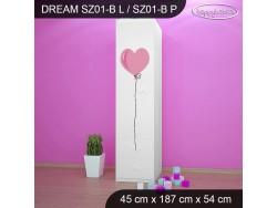 SZAFA DREAM SZ01-B DM01
