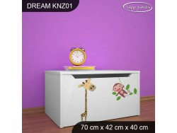 KUFER NA ZABAWKI DREAM KNZ-01 DM03