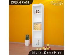REGAŁ WYSOKI DREAM RW04 DM03