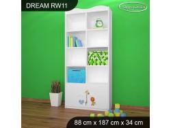 REGAŁ WYSOKI DREAM RW11 DM03