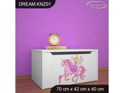 KUFER NA ZABAWKI DREAM KNZ-01 DM02