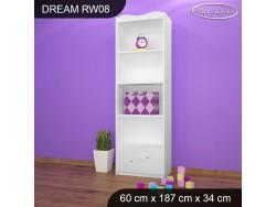 REGAŁ WYSOKI DREAM RW08 DM02