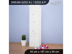 SZAFA DREAM SZ02-A DM02