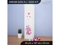SZAFA DREAM SZ02-A DM04