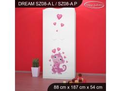 SZAFA DREAM SZ08-A DM04