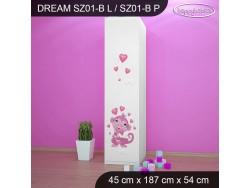 SZAFA DREAM SZ01-B DM04
