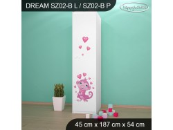 SZAFA DREAM SZ02-B DM04
