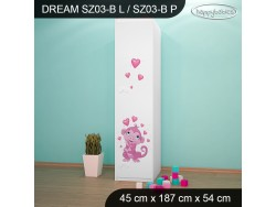 SZAFA DREAM SZ03-B DM04