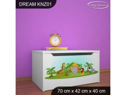 KUFER NA ZABAWKI DREAM KNZ-01 DM05