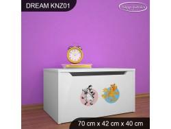 KUFER NA ZABAWKI DREAM KNZ-01 DM06