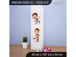 SZAFA DREAM SZ02-A DM06
