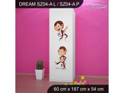 SZAFA DREAM SZ04-A DM06