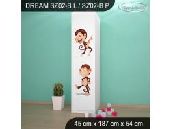 SZAFA DREAM SZ02-B DM06