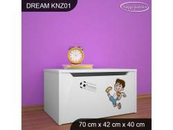 KUFER NA ZABAWKI DREAM KNZ-01 DM07