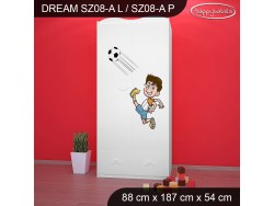 SZAFA DREAM SZ08-A DM07