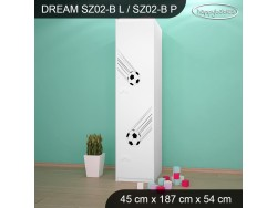 SZAFA DREAM SZ02-B DM07