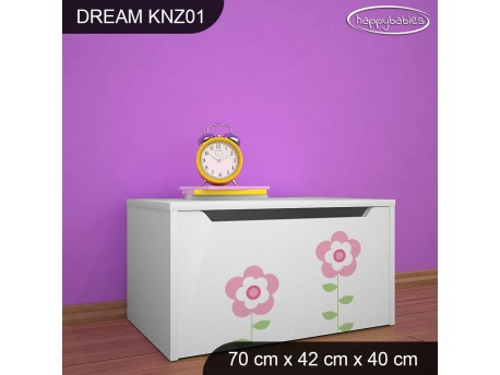 KUFER NA ZABAWKI DREAM KNZ-01 DM08