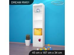 REGAŁ WYSOKI DREAM RW01 DM08