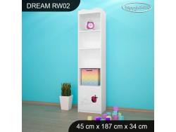 REGAŁ WYSOKI DREAM RW02 DM08