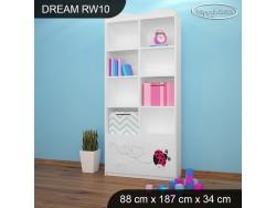 REGAŁ WYSOKI DREAM RW10 DM08