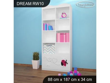 REGAŁ WYSOKI DREAM RW10 DM08