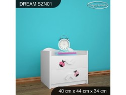 SZAFKA NISKA DREAM SZN01 DM08