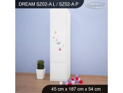 SZAFA DREAM SZ02-A DM09