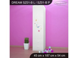 SZAFA DREAM SZ01-B DM09