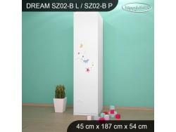 SZAFA DREAM SZ02-B DM09