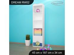 REGAŁ WYSOKI DREAM RW02 DM10