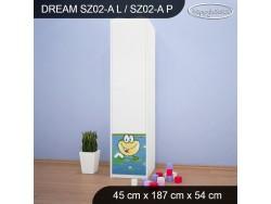 SZAFA DREAM SZ02-A DM10