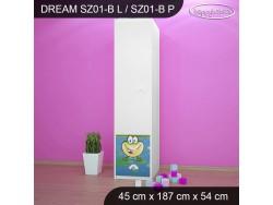 SZAFA DREAM SZ01-B DM10