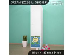 SZAFA DREAM SZ02-B DM10