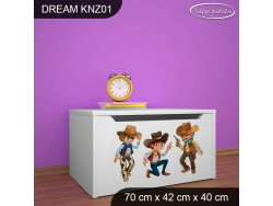KUFER NA ZABAWKI DREAM KNZ-01 DM12