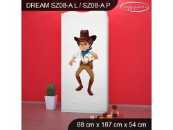 SZAFA DREAM SZ08-A DM12