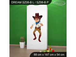 SZAFA DREAM SZ08-B DM12