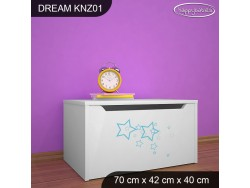 KUFER NA ZABAWKI DREAM KNZ-01 DM13