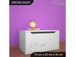 KUFER NA ZABAWKI DREAM KNZ-01 DM14