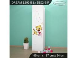 SZAFA DREAM SZ02-B DM14