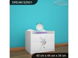 SZAFKA NISKA DREAM SZN01 DM14