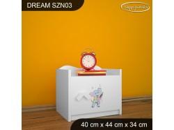SZAFKA NISKA DREAM SZN03 DM14