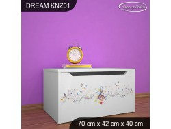KUFER NA ZABAWKI DREAM KNZ-01 DM17