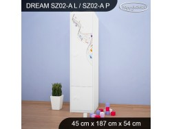SZAFA DREAM SZ02-A DM17