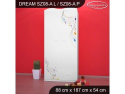 SZAFA DREAM SZ08-A DM17