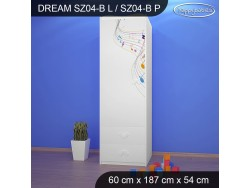 SZAFA DREAM SZ04-B DM17
